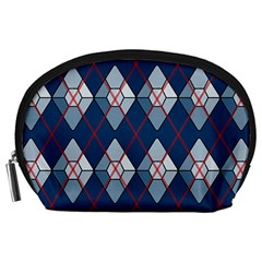 Diamonds And Lasers Argyle  Accessory Pouches (large)  by emilyzragz