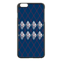 Diamonds And Lasers Argyle  Apple Iphone 6 Plus/6s Plus Black Enamel Case by emilyzragz
