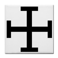 Cross Potent Tile Coasters by abbeyz71