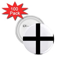 Cross Potent 1 75  Buttons (100 Pack)  by abbeyz71