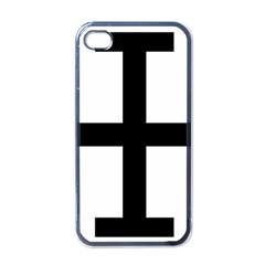Cross Potent Apple Iphone 4 Case (black) by abbeyz71