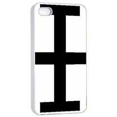 Cross Potent Apple Iphone 4/4s Seamless Case (white) by abbeyz71