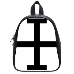 Cross Potent  School Bags (small)  by abbeyz71