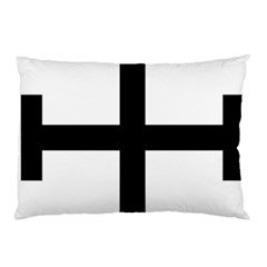 Cross Potent  Pillow Case (two Sides) by abbeyz71