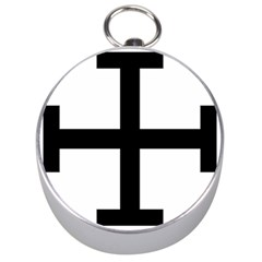 Cross Potent  Silver Compasses by abbeyz71
