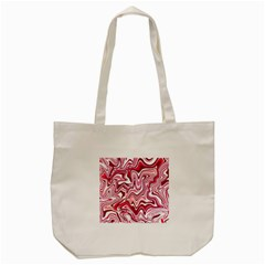 Pink Marble Pattern Tote Bag (cream)