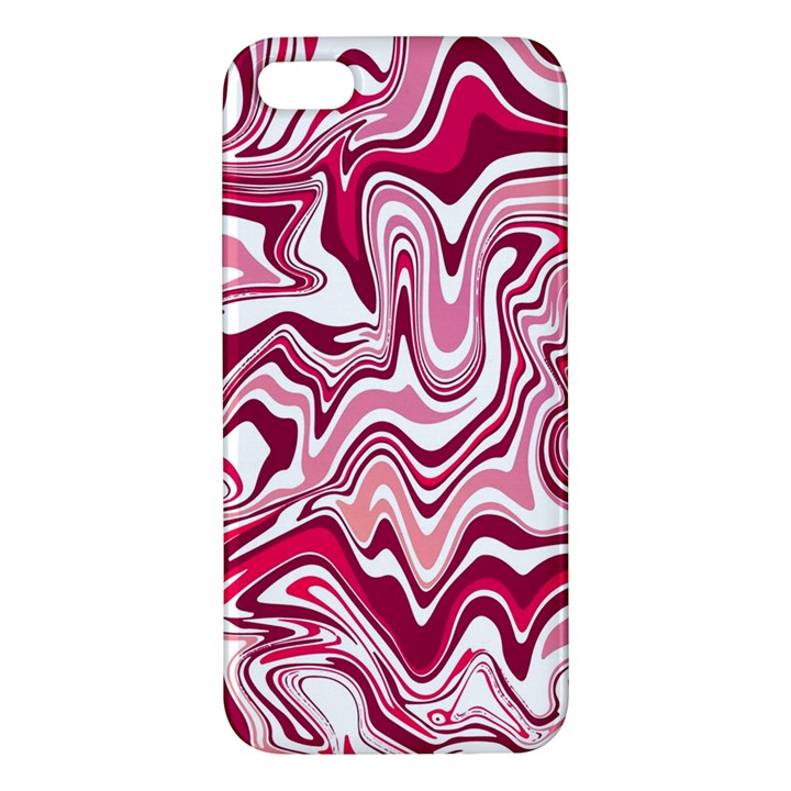 Pink Marble Pattern Apple iPhone 5 Premium Hardshell Case