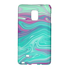 Iridescent Marble Pattern Galaxy Note Edge by tarastyle