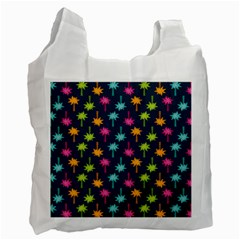 Funny Palm Tree Pattern Recycle Bag (one Side) by tarastyle