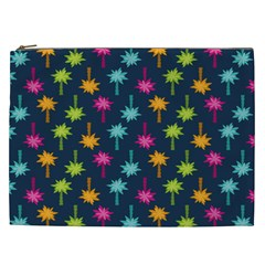 Funny Palm Tree Pattern Cosmetic Bag (xxl)