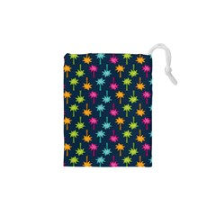 Funny Palm Tree Pattern Drawstring Pouches (xs)  by tarastyle