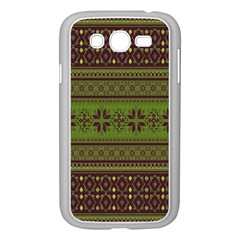 Pattern Samsung Galaxy Grand Duos I9082 Case (white) by Valentinaart