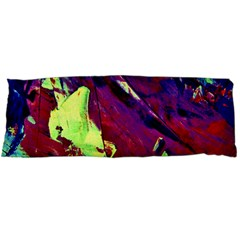 Abstract Painting ,blue,yellow,red,green Body Pillow Case (dakimakura) by Costasonlineshop