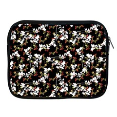 Dark Chinoiserie Floral Collage Pattern Apple Ipad 2/3/4 Zipper Cases by dflcprints