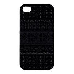 Pattern Apple Iphone 4/4s Hardshell Case by Valentinaart