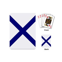 Saint Andrew s Cross Playing Cards (mini)  by abbeyz71