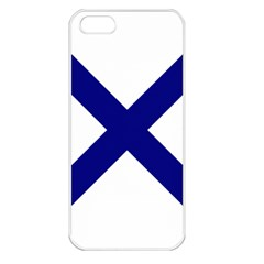 Saint Andrew s Cross Apple Iphone 5 Seamless Case (white) by abbeyz71