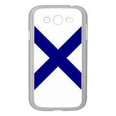 Saint Andrew s Cross Samsung Galaxy Grand Duos I9082 Case (white) by abbeyz71