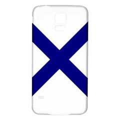 Saint Andrew s Cross Samsung Galaxy S5 Back Case (white)