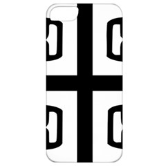 Serbian Cross Apple Iphone 5 Classic Hardshell Case by abbeyz71