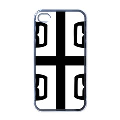 Serbian Cross Apple Iphone 4 Case (black) by abbeyz71
