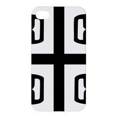 Serbian Cross Apple Iphone 4/4s Premium Hardshell Case by abbeyz71