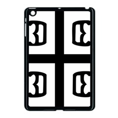 Serbian Cross Apple Ipad Mini Case (black) by abbeyz71