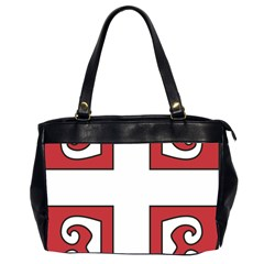 Serbian Cross Shield Office Handbags (2 Sides)  by abbeyz71