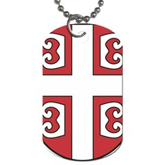 Serbian Cross Shield Dog Tag (one Side) by abbeyz71