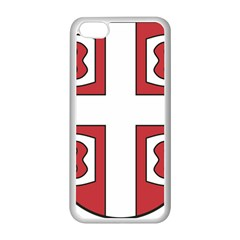 Serbian Cross Shield Apple Iphone 5c Seamless Case (white) by abbeyz71