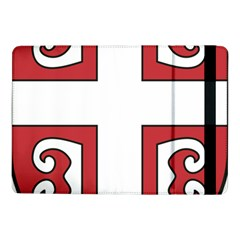 Serbian Cross Shield Samsung Galaxy Tab Pro 10 1  Flip Case