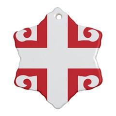 Serbian Cross  Ornament (snowflake) by abbeyz71