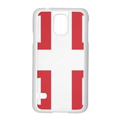 Serbian Cross  Samsung Galaxy S5 Case (white) by abbeyz71