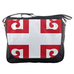 Serbian Cross  Messenger Bags by abbeyz71
