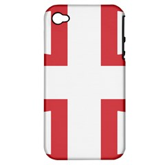 Serbian Cross  Apple Iphone 4/4s Hardshell Case (pc+silicone)
