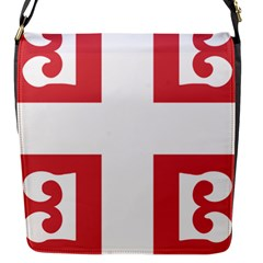 Serbian Cross  Flap Messenger Bag (s) by abbeyz71
