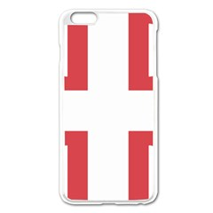Byzantine Imperial Flag, 14th Century  Apple Iphone 6 Plus/6s Plus Enamel White Case by abbeyz71