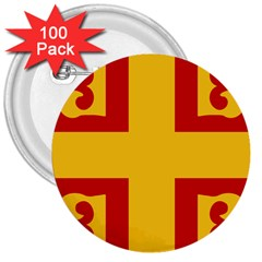Byzantine Imperial Flag, 14th Century 3  Buttons (100 Pack)  by abbeyz71