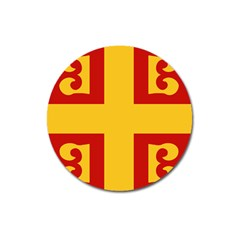 Byzantine Imperial Flag, 14th Century Magnet 3  (round)