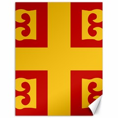 Byzantine Imperial Flag, 14th Century Canvas 18  X 24   by abbeyz71