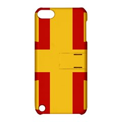 Byzantine Imperial Flag, 14th Century Apple Ipod Touch 5 Hardshell Case With Stand by abbeyz71