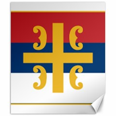 Flag Of The Serbian Orthodox Church Canvas 20  X 24   by abbeyz71