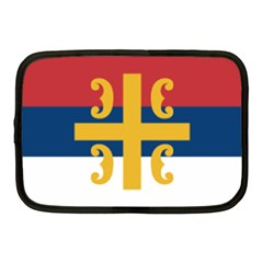 Flag Of The Serbian Orthodox Church Netbook Case (medium)  by abbeyz71