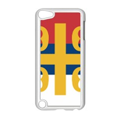 Flag Of The Serbian Orthodox Church Apple Ipod Touch 5 Case (white) by abbeyz71