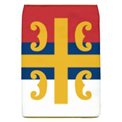 Flag Of The Serbian Orthodox Church Flap Covers (l)  by abbeyz71