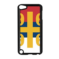 Flag Of The Serbian Orthodox Church Apple Ipod Touch 5 Case (black) by abbeyz71