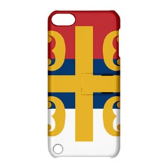 Flag Of The Serbian Orthodox Church Apple Ipod Touch 5 Hardshell Case With Stand by abbeyz71