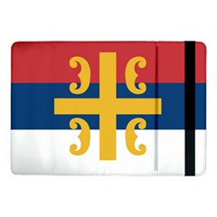 Flag Of The Serbian Orthodox Church Samsung Galaxy Tab Pro 10 1  Flip Case by abbeyz71