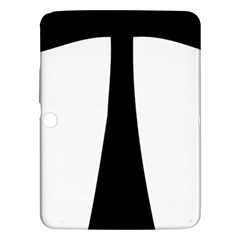 Tau Cross  Samsung Galaxy Tab 3 (10 1 ) P5200 Hardshell Case  by abbeyz71