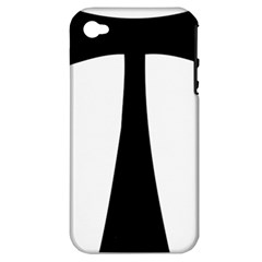 Tau Cross  Apple Iphone 4/4s Hardshell Case (pc+silicone) by abbeyz71